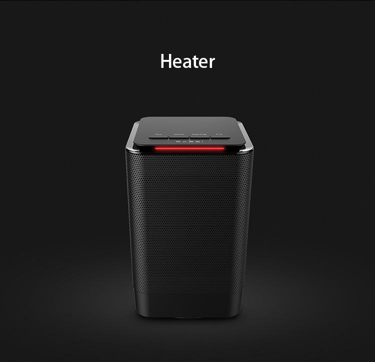 New Electric Heaters PTC Ceramic Heating  Adjustable Thermostat Domestic Hot Air Heater Warm hand Portable Indoor Desktop Gift 220v 500w mini ptc ceramic space electric heaters desktop fan heater for warm winter 1 color blue