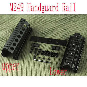 Tactical handguard rail M249 Upper and Lower Scope mount Handguard Rails System BK - DISCOUNT ITEM  10% OFF Sports & Entertainment
