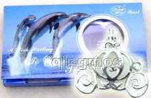 Популярный подарок одна коробка кулон коляска ожерелье с жемчугом
