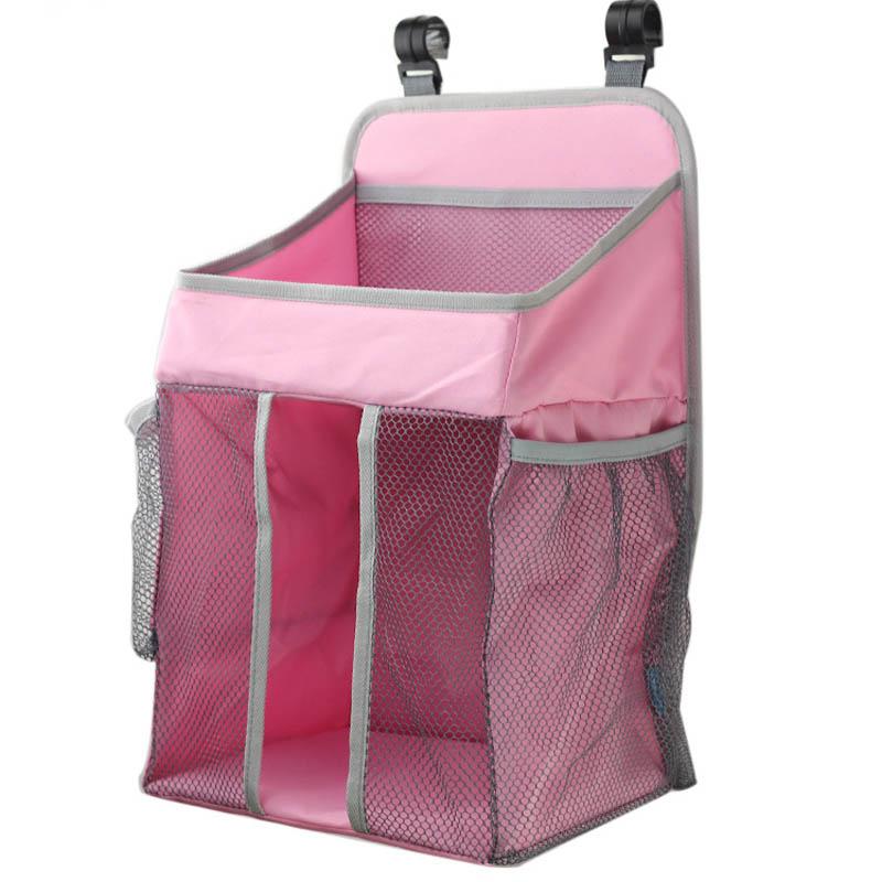 Портативный органайзер для детской кроватки, подвесная сумка для детской кроватки, сумка для хранения пеленок, набор постельного белья, сумки для подгузников