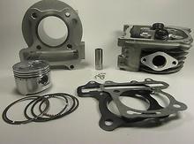 Kymco Super 8 Agility 50 72cc 47mm tuning Cylinder