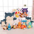 Hot Sale Dragon Snorlax Psyduck Plush Toys Kawaii Anieme Animal Figure Stuffed Doll Kids Toy Birthday Christmas Gift
