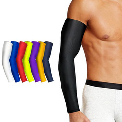 1PCS Basketball Arm Sleeve Armguards Quick Dry UV Protectin Running Elbow Support Arm Warmers Fitness Elbow Pad Cycling