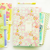 1pc Brand New Waterproof Book A4 Paper File Folder Bag Accordion Style Design Document Rectangle Office