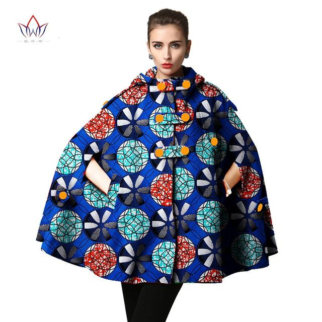 2a46231b6f8 2017 Autumn African Trench Coat for Women Plus Size African Clothing Africa  Print Outfits Dashiki Office