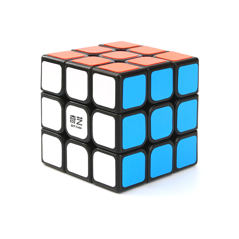 QIYI Fidget Cube Professional Magic Cube 3x3x3 Puzzles Cube Kids Gifts Magic Speed Cubes Educational Toy Puzzle Magico Cubo brand new dayan wheel of wisdom rotational twisty magic cube speed puzzle cubes toys for kid children