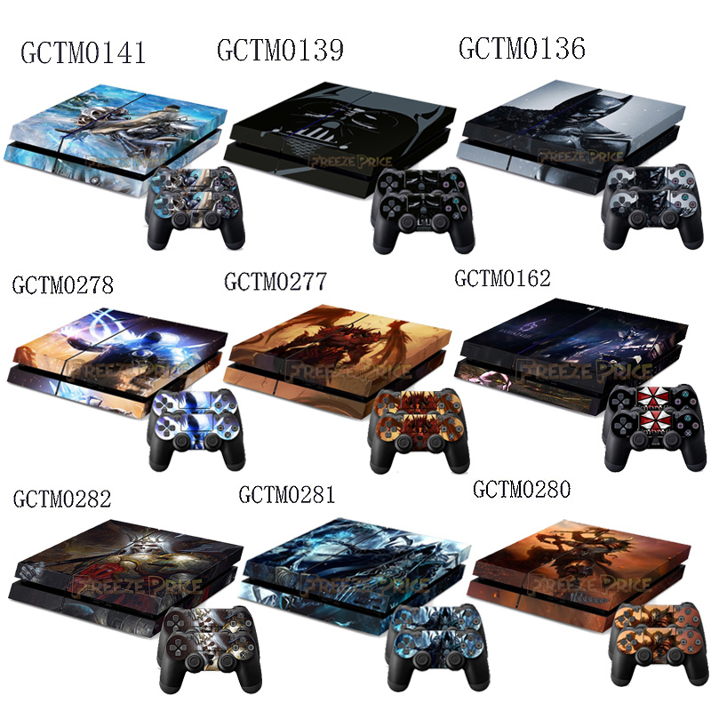 Si Fi Serie Consola Del Jugador Del Juego Stickers 2 Controlador
