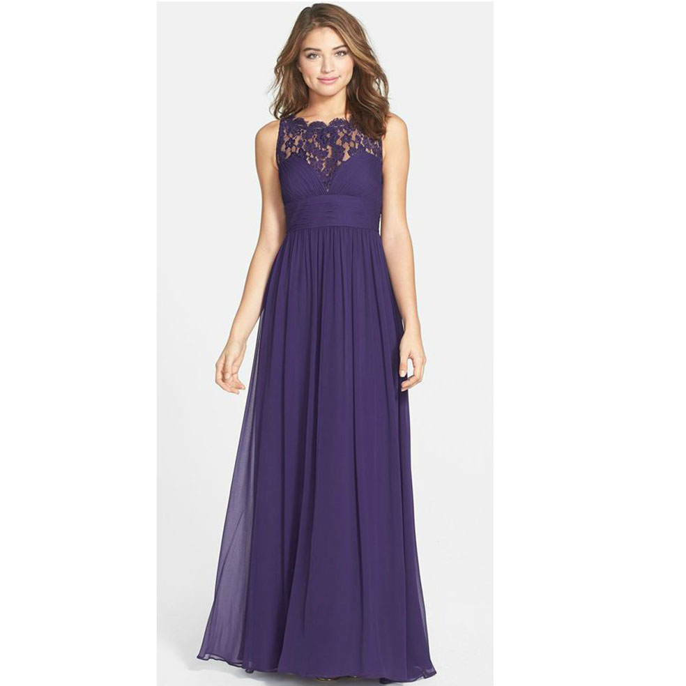 Popular Chiffon Empire Waist Bridesmaid Dresses-Buy Cheap Chiffon ...