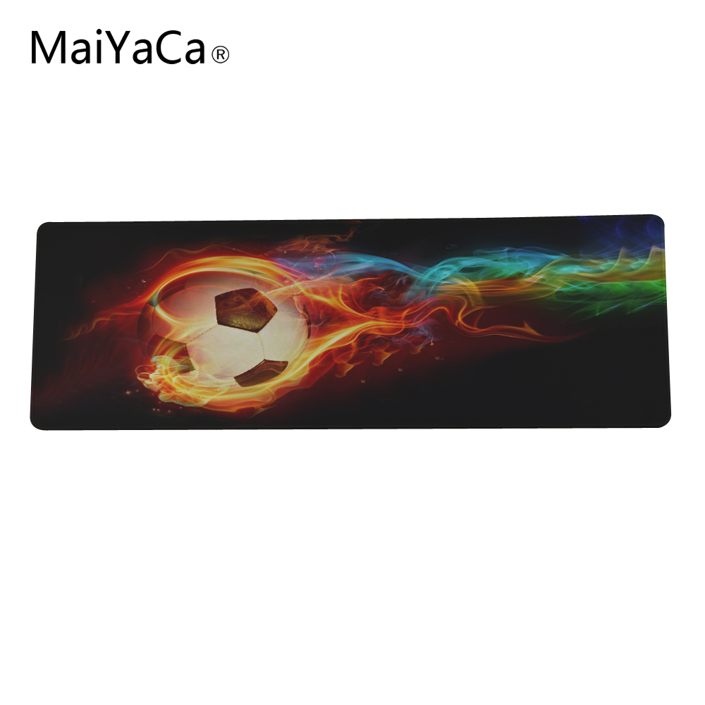 big size 300x900mmx2mm Custom Print Luxury FC Barcelona Football Heroes Mouse Pad Gaming Optical Durable Non-slip Mouse Pad PC