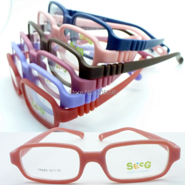 827defacb33 wholesales TR689 Kid top TR90 bendable safety rectangle optical frame plu  adjustable strap durable pupil glasses free shipping. Price