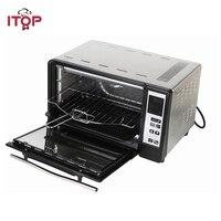 ITOP электрическая бытовая печь хлеб пицца кебаб Многофункциональный Плита ЕС Plug 5 Пособия по кулинарии режима может быть выбранные