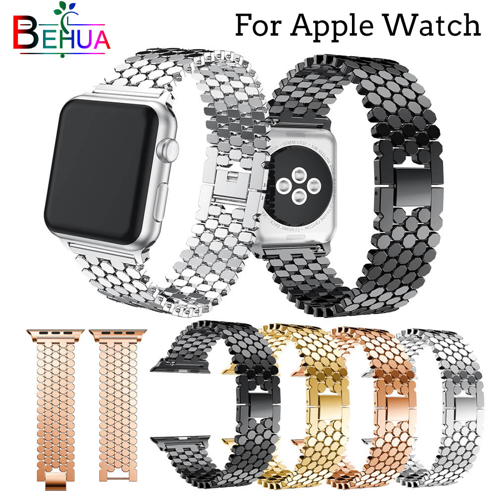 link bracelet strap For Apple watch Stainless steel 42mm 38mm For iwatch 4 3 2 1 series bracelet wrist bands watchband with tool цена 2017