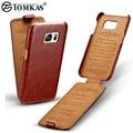 Flip Leather Case For Samsung Galaxy S7 G9300 Телефон Обложка Для Samsung Galaxy S7 Edge Люкс Ретро Coque TOMKAS Бренд