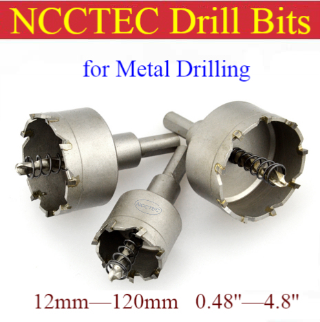 8 Tungsten Steel Hole Saw Drill Bits Alloy Cutter 12mm 120mm Stainless Steel Metal Iron Steel Plate Aluminum Cutting