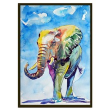 Diamond Painting Cartoon Colorful Elephant Picture Pattern Southeast Asia Style Decorative Round Full Diamond Embroidery Mosaic
