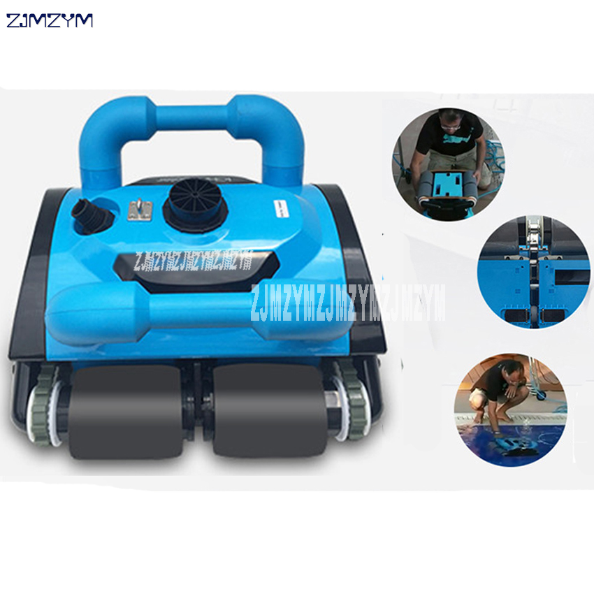 US $3514.4 8% OFF|Fully Automatic Underwater Vacuum Swimming Pool Robot  Vacuum Cleaner Robot Cleaning Equipment Newest 110V/220V ICH 200 -in Vacuum  ...