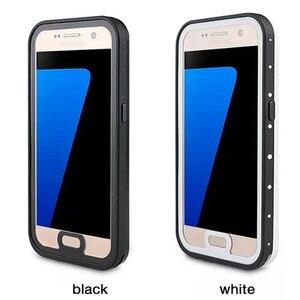 Image 4 - Für galaxy S7 Wasserdichte Fall Ursprüngliche Leben Wasser Schmutz Shock Proof 6,6 Füße Unterwasser 2 mt Für Samsung Galaxy S7 G930 Telefon Fall