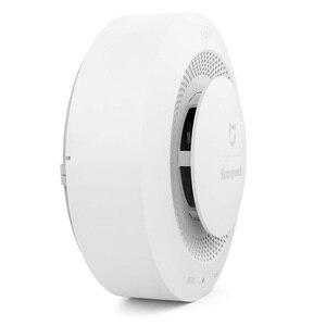 Image 2 - Mijia Youpin Honeywell détecteur de fumée détecteur dalarme incendie télécommande sonore alarme visuelle Notification travail avec Mi Home APP