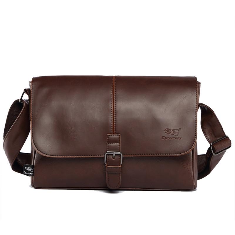 026474ced0e Famous Brands Men Messenger Bags Leather Handbags Large Capacity Travel Bag  Luxury Designer Briefcase Laptop Shoulder ...