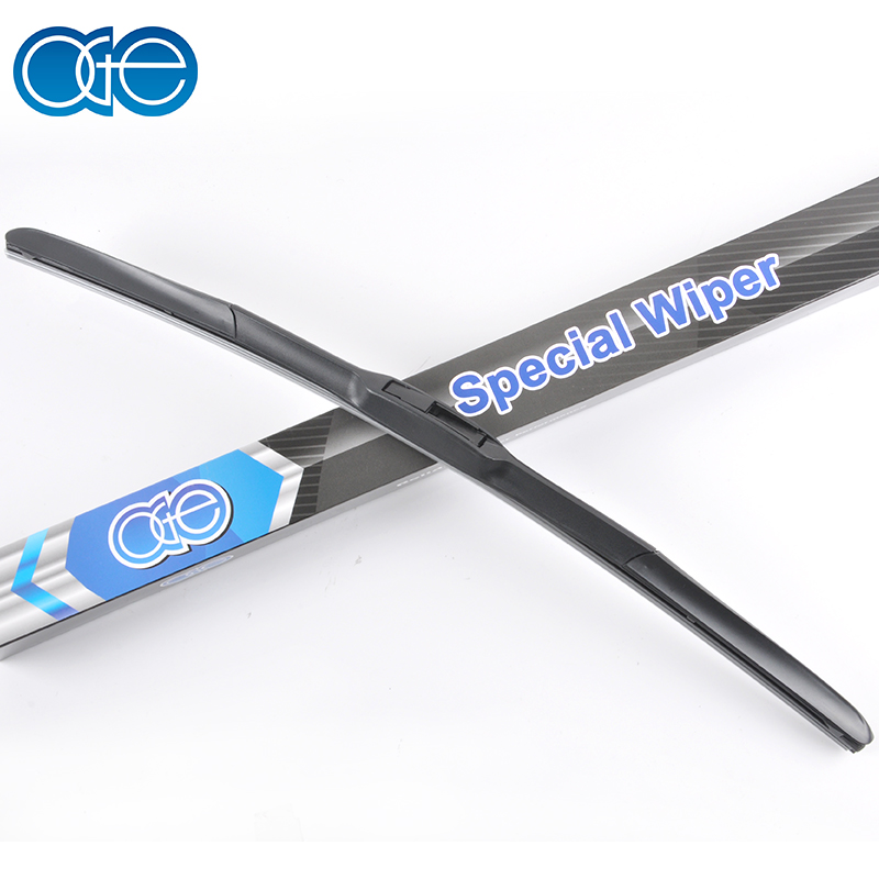 Oge 1Pcs Wiper Blade For U Hook Arm, High Quality Rubber Windscreen Car Accessories