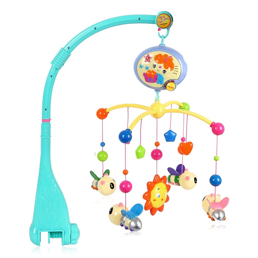 Brinquedo do bebê cama sino musical móvel