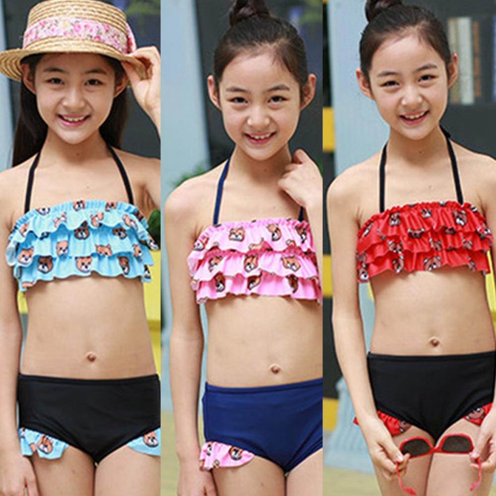 bikini bikini kids cute children s swimsuit new