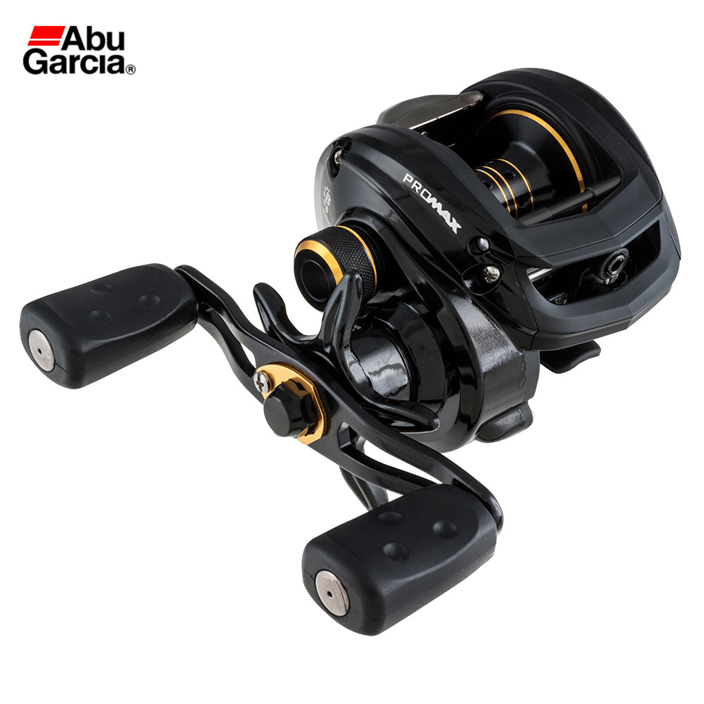 Abu Garcia PMAX3 Right Left Hand Bait Casting Fishing Reel 7+1BB 7.1:1 207g 8KG Max Drag Drum Trolling Baitcasting Reel nunatak original 2017 baitcasting fishing reel t3 mx 1016sh 5 0kg 6 1bb 7 1 1 right hand casting fishing reels saltwater wheel