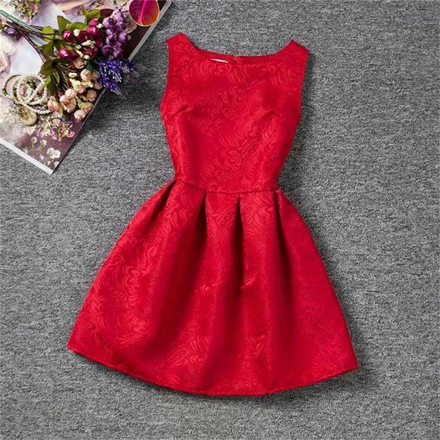 d7af2a03b4637c Zomer Meisjes Prinses Jurken Baby Kids Kinderkleding Meisje School jurk  Tieners Meisjes Feestkleding Jurk Voor 6