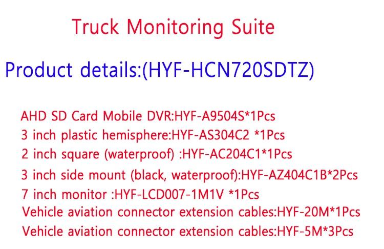 AHD960P sistema HD anfitrião 4 canal de