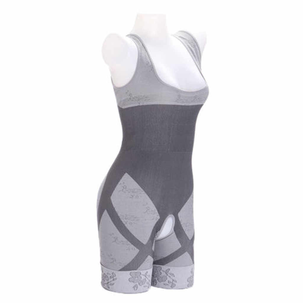 8ab54385dea ... CHAMSGEND Shaper Control Bodysuit Slimming Gridle Corset Female  Slimming Bamboo Charcoal Thermal Body Shapers Full Body ...