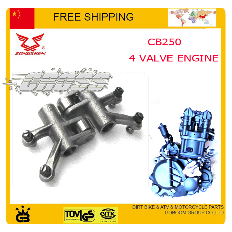 ZONGSHEN CB250 water cooled engine 4 valve arm rockarm inlet cqr KAYO BSE 250cc dirt pit bike atv quad motorcycle accessories image