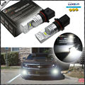 2pcs 6000K P13W LED  Bulbs For 2010-2013 Chevy Camaro, 2013-up Mazda CX-5, 2008-2012 Audi A4/S4/Q5 Daytime Running Lights