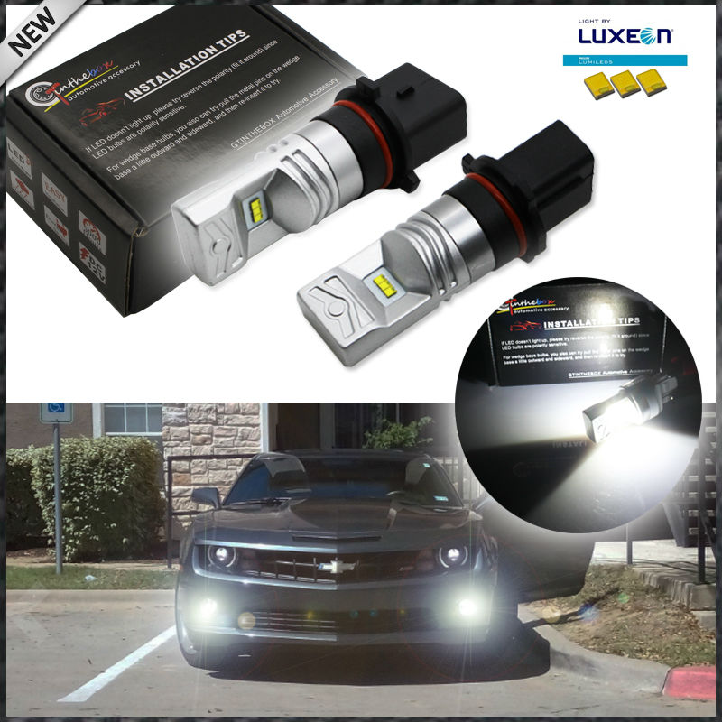 iJDM 6000K P13W LED Bulbs For 2010-2013 Chevy Camaro, 2013-up Mazda CX-5, 2008-2012 Audi A4/S4/Q5 Daytime Running Lights,12V free shipping for vland car styling head lamp for vw golf 7 headlights led drl led signal h7 d2h xenon beam