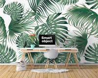 Beibehang Custom tapete Nordic tropical blätter banana leaf TV sofa hintergrund wand wand papier home decor papier peint wandbild