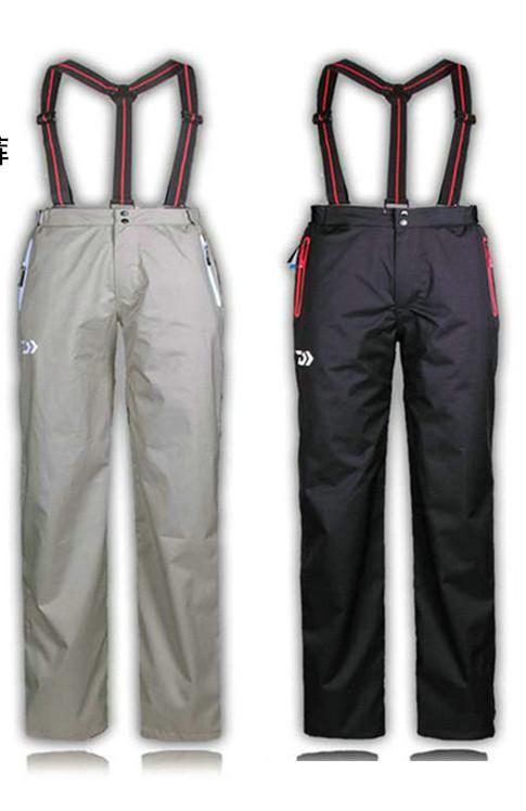 2017 Brand New Outdoor Warmth Sports Pants Professional Men Fishing Pants Composite Glue Windproof Waterproof Pants