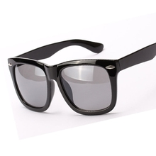 Vintage Women Oversized Protection Sunglasses Square Mirrored Lens Eyewear Glasses 5 Colors