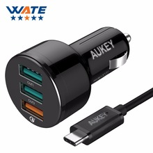 More than USB font b Car b font Charger one for three qc3 0 fast charger