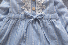 Baby dresses for girls, newborn, children bowknot long-sleeve princess dress,baby girl clothes 0-2Y