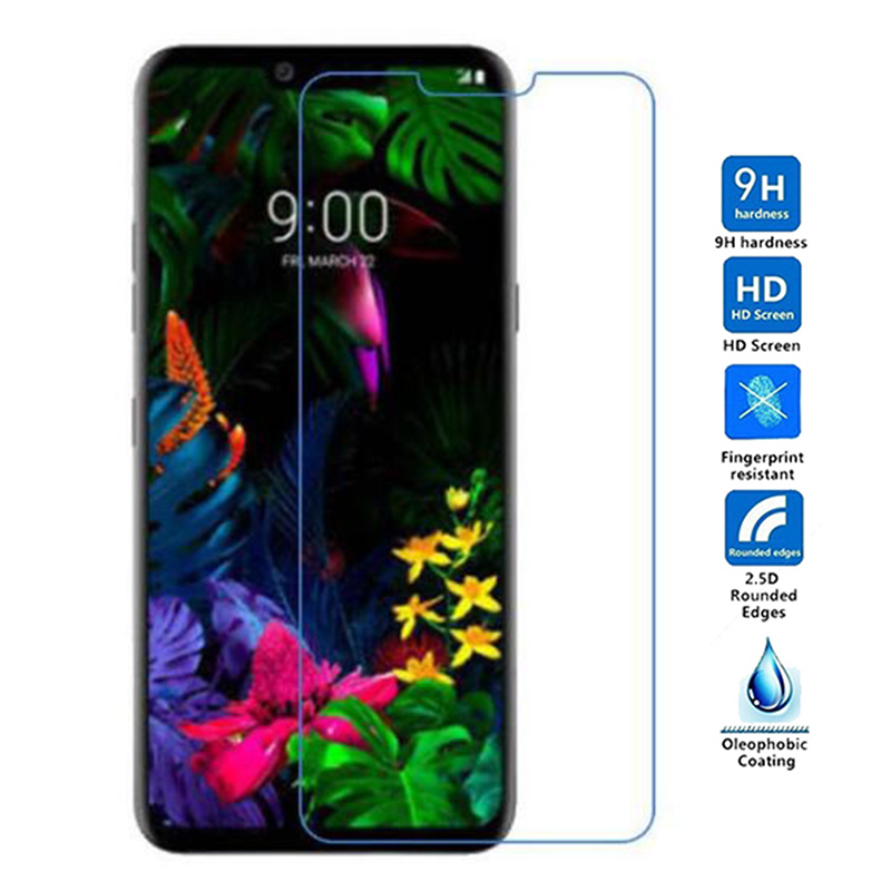 2Pcs For LG K40 K50 Q60 V50 Glass Explosion-Proof Phone Protective Film For LG G6 Pro G8 Thinq Tempered Glass Screen Protector