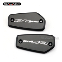 For Suzuki B KING 2008 2012 Motorcycle Front Brake Clutch Master Cylinder Fluid Reservoir Cover Cap B