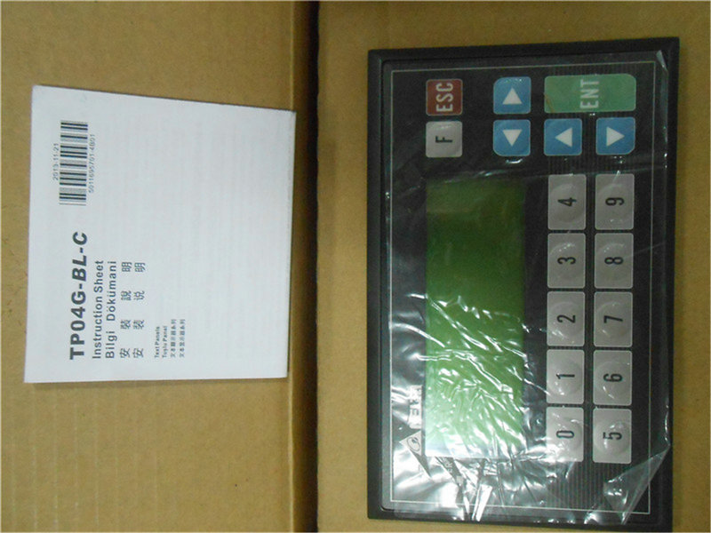 Delta 4.1 inch Text Panel HMI TP04G-BL-C 4.1 Touch Screen HMI 192*64 STN-LCD Monochromatic Display Panel new hitech 5 7 inch hmi touch screen plc hmi operator panel display mono stn lcd pws6600s p 640 480 2com 1year warranty