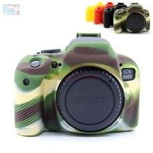 Резина силиконовый чехол тела протектор крышки мягкий каркас кожи для Canon EOS 800D Rebel T7i поцелуй X9i Камера