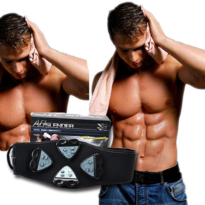 6f7ab38fe2de6 2016 Newest ABS Gymnic Electric Body Shaper Fat Burning Massage Belt  Exercise Fitness Equipment For Weight Loss-in Vibration Fitness Massager  from Sports ...