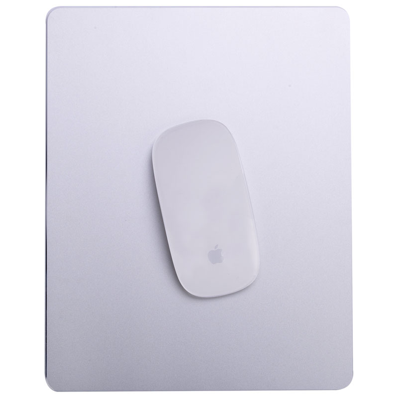 Bestjing Large Game Mouse Pad Ultra Thin Aluminum Alloy Waterproof Computer Mouse Mat for Apple MacBook 2018 new samdi wood mouse pad with pen slot luxury computer mouse pads birch walnut mouse mat for apple mouse apple pen pencil