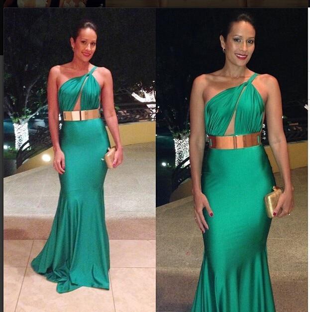 abito verde smeraldo