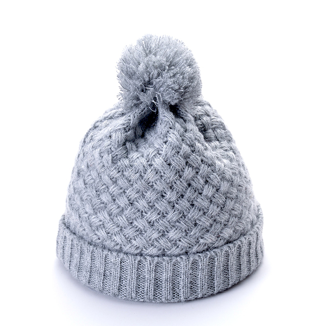 351cd4b4a US $7.99 |Winter Brand Female Ball Cap Pom Poms Winter Hat For Women Girl  'S Hat Knitted Beanies Cap Hat Thick Women'S Skullies Beanies-in Skullies &  ...