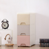 The Plastic Storage Box Plastic Armoire Spare Parts Bin With Good Quality Of Three Layer