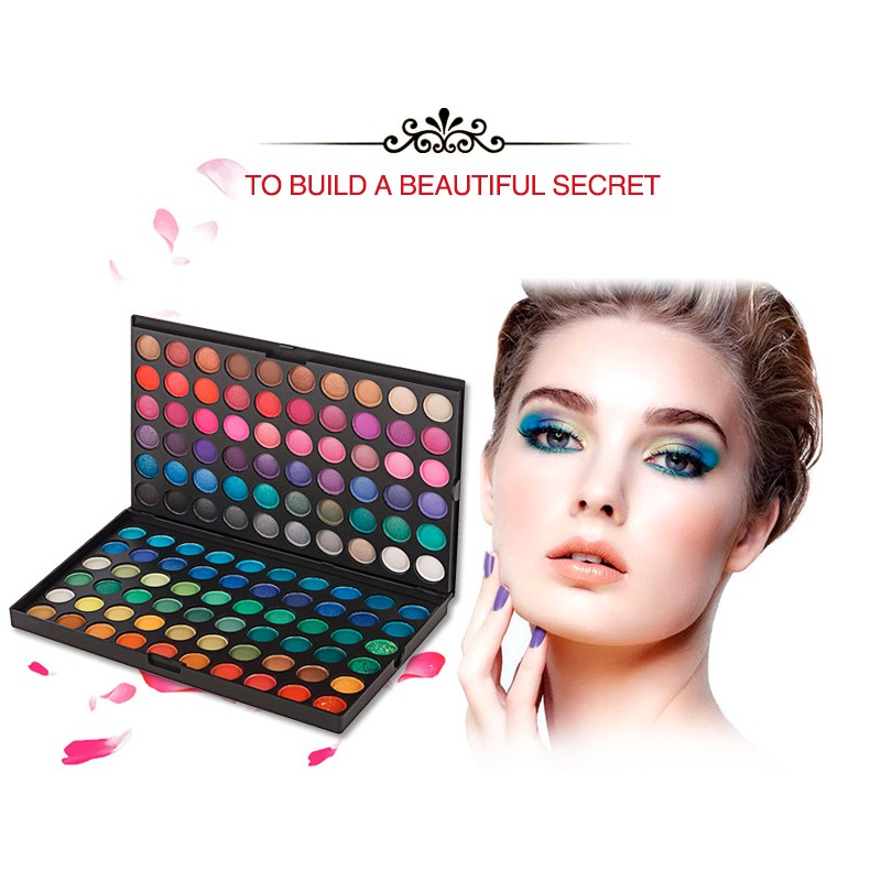 Newest sale Professional Eyeshadow Palette 120 Colors Matte: shimmer Double layer Eyeshadow kit long-lasting Makeup Palette4