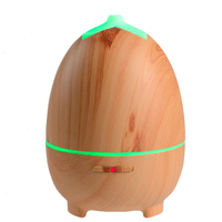 300ML Aromatherapy Essential Oil Diffuser With LED Lights For Home Ultrasonic Cool Mist Air Humidifier Wood