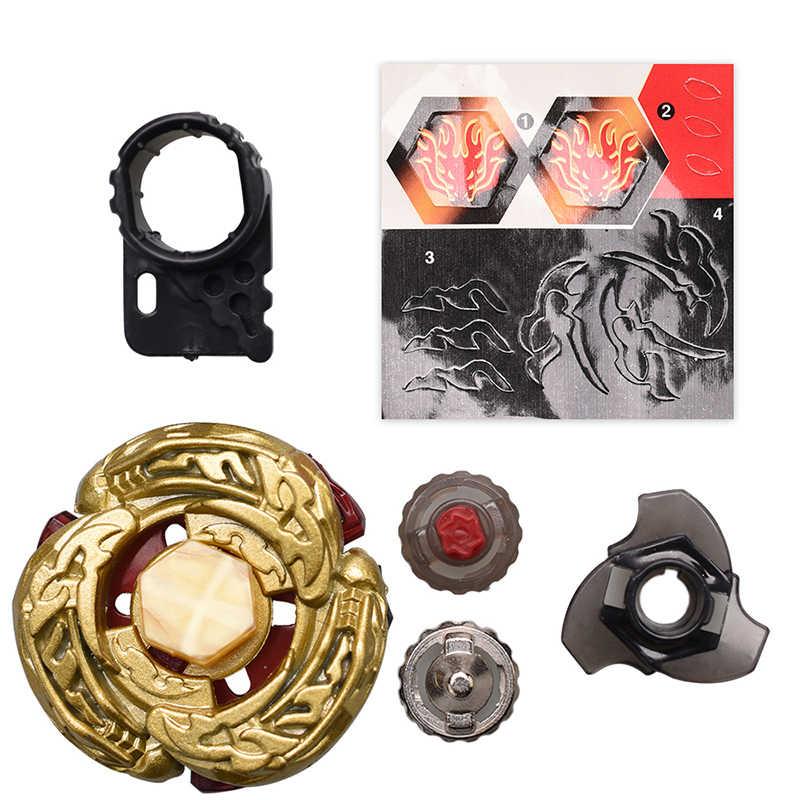 Золотой дракон игрушки Юла burst игрушки Металл Fusion 4D Bayblade с пусковым устройством спиннинг Топ подарок игрушки для детей # E